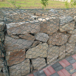 80x100mm Rock Fall Hexagonal Mesh
