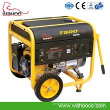 6квт CE Электрический/Старт возвратной пружины генератор Газолина (WH7500K) для домашнего использования