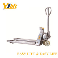 Scale Pallet Truck Stainless Hydraulic ZSS series