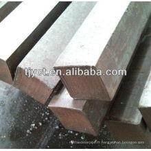 solide en acier inoxydable / plat / rond / tige carrée