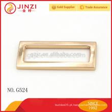 Hot venda moda zinco liga bolsas fivela de cinto para peças de saco