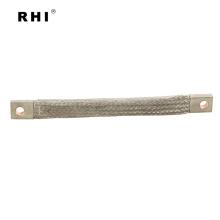Copper braid tape, copper wire braided strip with lug