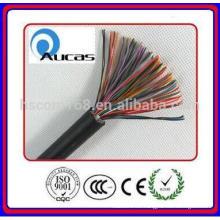 Cable de comunicación del mejor precio al por mayor de la fábrica 5/10/20/25/50/100/200 Pares Cable de teléfono de HYAT