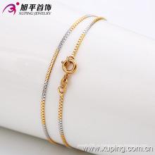 Мода человек многоцветный позолоченный ожерелье (42382)