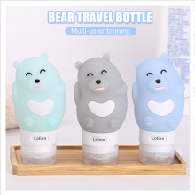 2018 Newest Silicone Squeeze Fordable Folding Travel Bottle