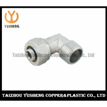 Male Forged Brass Fitting with The Nut for Aluminium Plastic Composite Pipe (YS3307)