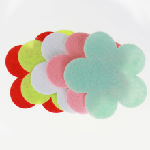 Flower shape felt embellishment
