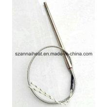 Tige de chauffage de cartouche d'élément chauffant de tube électrique (DTG-129)