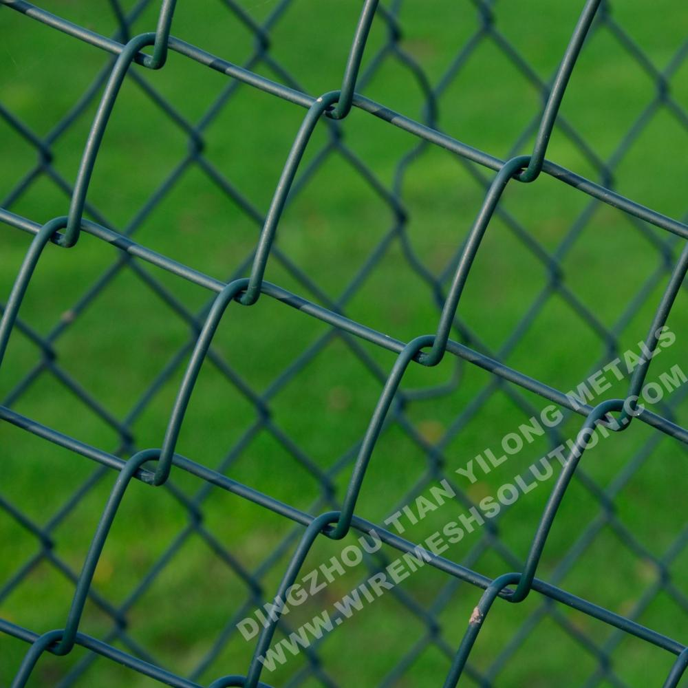 Economical PVC Coated Chain Link Fence