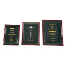 placas personalizadas baratas design de prêmios