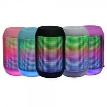 Aibimy My500bt Беспроводной мини-Bluetooth спикер Портативный аудио-плеер Музыка этап Открытый светодиодный мини-динамиков