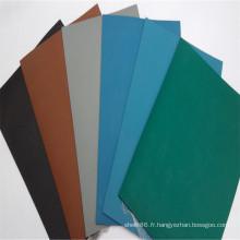 Tapis en caoutchouc antistatique de fournisseur de la Chine / tapis en caoutchouc d'ESD d'industrie