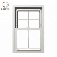 Fabrication price aluminium doors windows manufacturer double hung window for sale