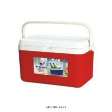 Caixa plástica portátil do refrigerador 4L, caixa do refrigerador do alimento, caixa mais fresca