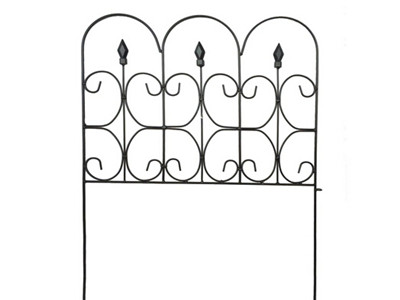 Scroll Top Boder Fence