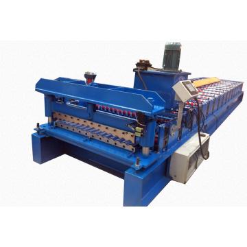 Wellplatten-Rollformmaschine für Wand