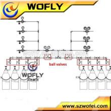 Válvula de bola de tubos de 3000 psi de alta presión fabricante