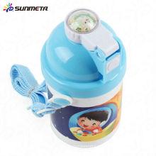 Garrafa de água bonito do miúdo para a impressão de transferência de calor 400ml