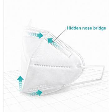 Masque jetable médical chirurgical Kn95 pour le visage
