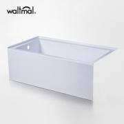 Banheira clássica de imersão em branco alto brilho