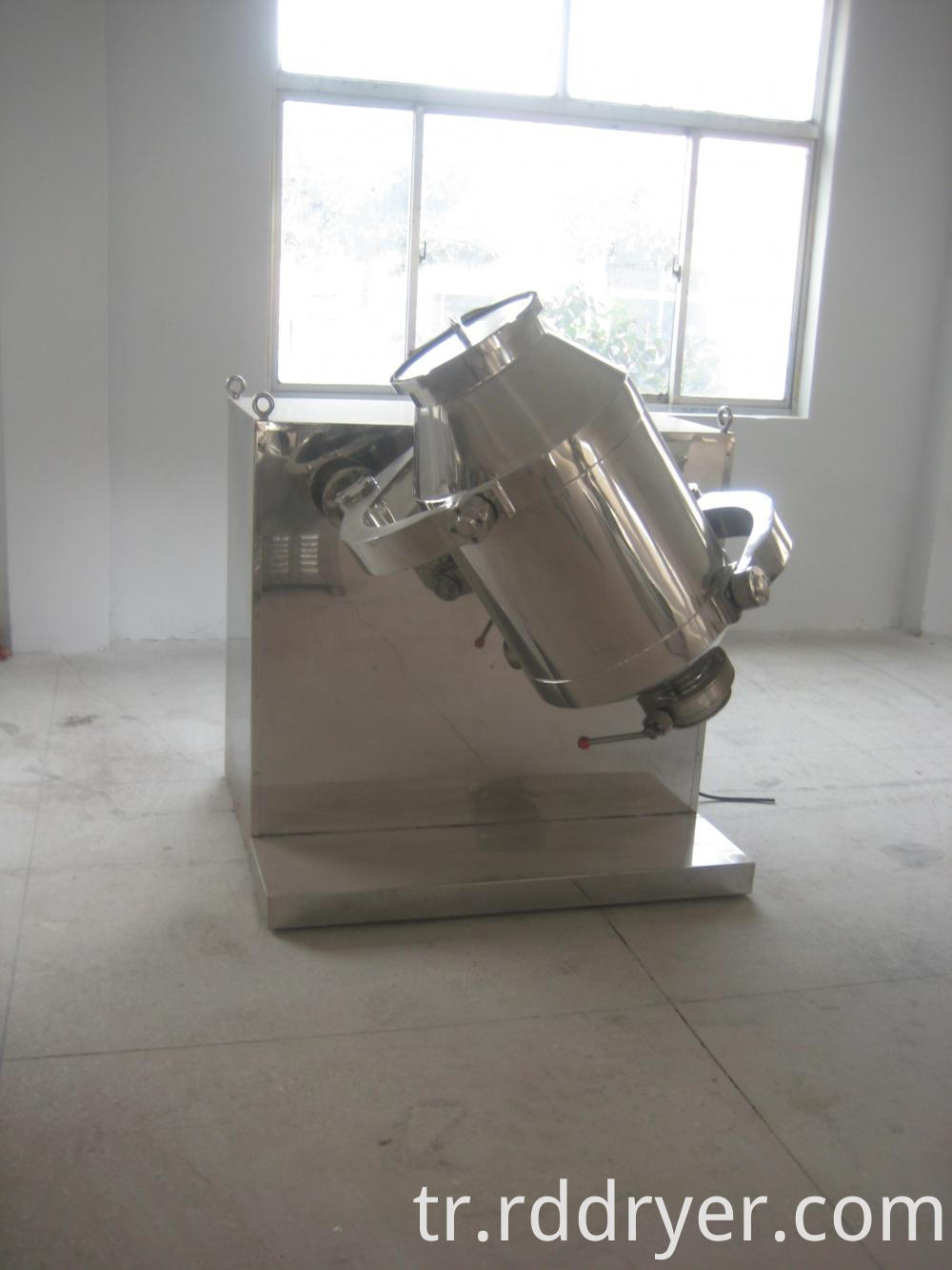 Pharmaceutical Laboratory Replaceable Multi-Dimensional Mixer