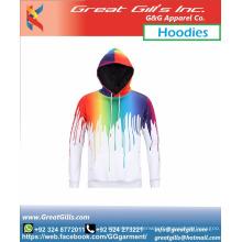 Sublimation Custom design gym sports fashion hoodies men and women