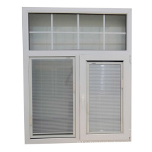 PVC Internal glass window shutters