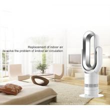 2019 Comercio al por mayor Mini PTC de cerámica eléctrico oscilante ventilador caliente y fresco con pantalla digital y control remoto