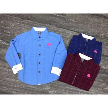 european and korean fashion boys shirt/cotton shirts for boys kids