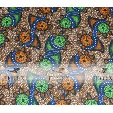 Cera real africana vendedora caliente de la cera de Hollandais en precio de fábrica tejido de la tela FEITEX