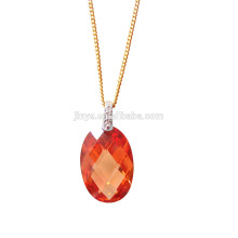 Fashion Bling Bling Zircon Pendant Necklace