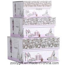 Caja de regalo de almacenamiento de regalo de forma cuadrada con cierre de solapa de imán
