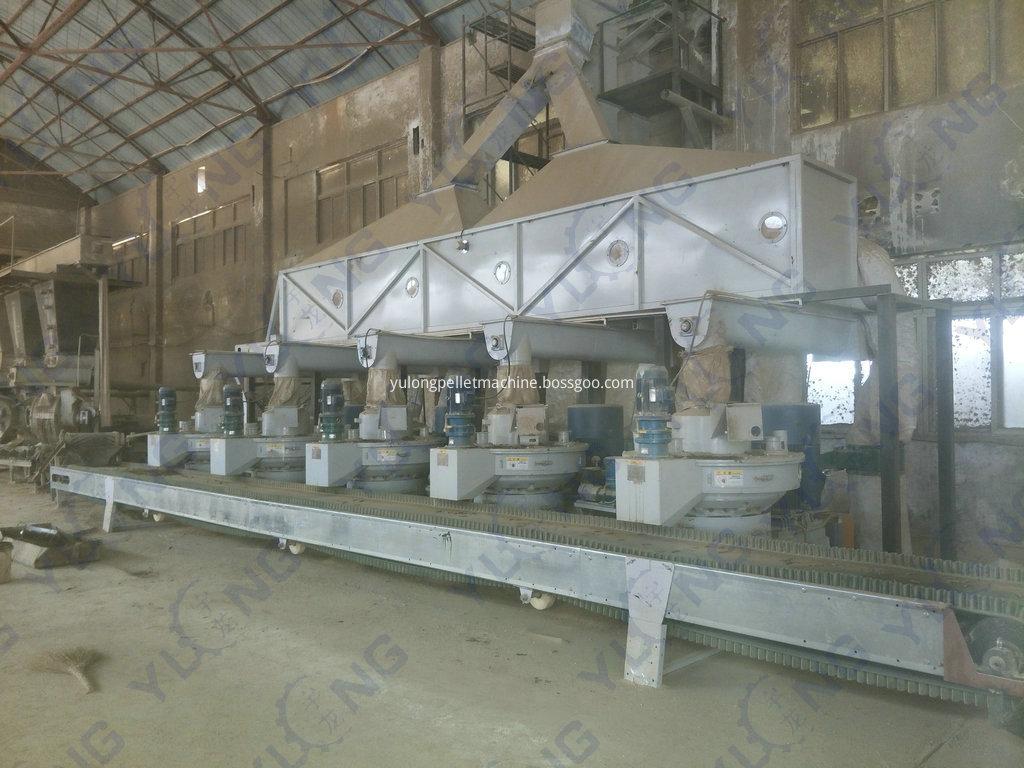 Wood Waste Pellet Processing Machinery