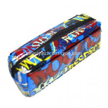 Shining PVC Pencil Case with 2 Zippers