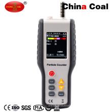 Ht-9601 Contador de partículas del conducto láser aerotransportado automático digital portátil