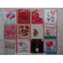 Customized Printing Happy Valentine′s Day Greeting Cards and Envelop