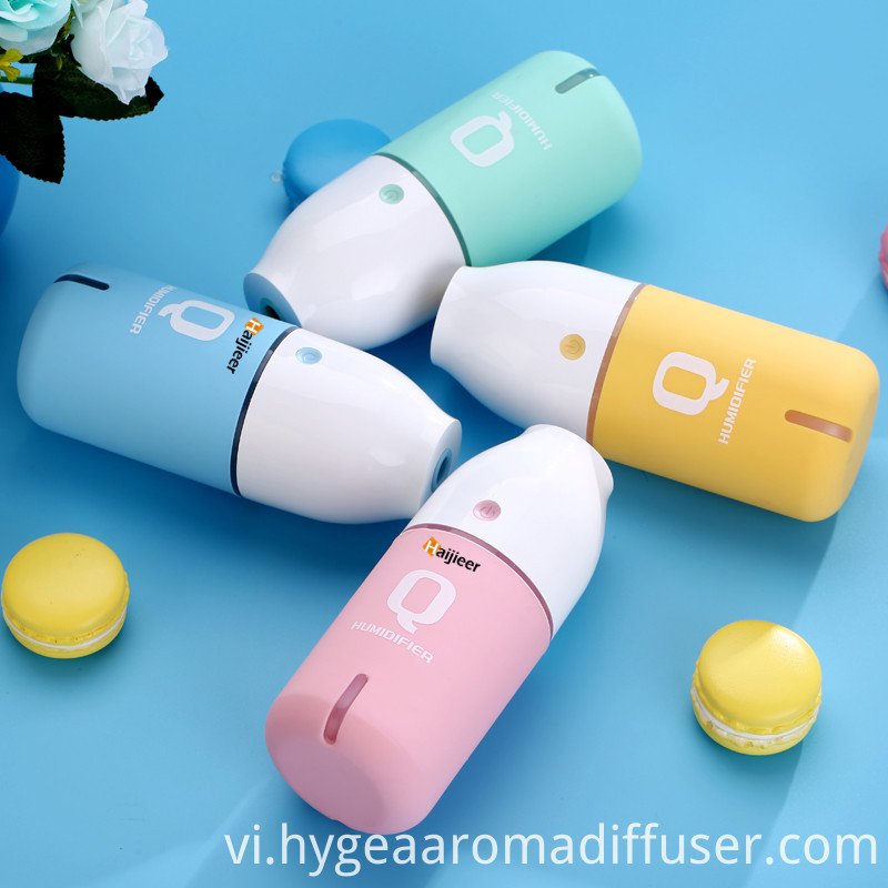Q bottle humidifier