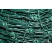 Verzinktes PVC Barebd Wire. Kann Custermed Stacheldraht