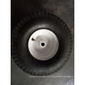 Roda de ar para uso de máquina de cortador de grama