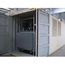 Ensemble de générateur de conteneurs avec transformateur (200kVA-2000kVA)