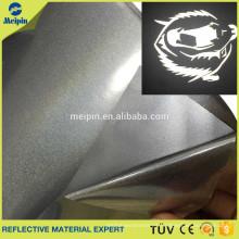 Reflejo de alta temperatura PU / vinilo reflectante de transferencia de calor