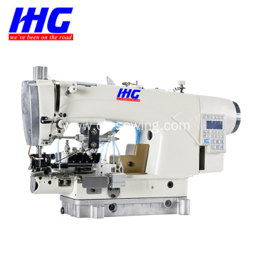 IH-639D-5P DIRECT DRIVE LOCKSTITCH BOTTOM HEMMING MACHINE