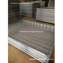 48mm De. Panel de valla de temperatura galvanizado resistente