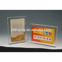 clear acrylic photo frame paperweight embedment