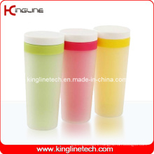 300ml Plastic Double Layer Cup Lid (KL-5007)