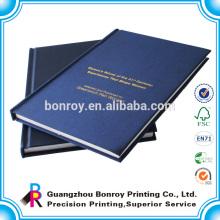 preiswerte Notizbuch-Notizbücher der Volumen-A4 A5 Gewebeabdeckung-gebundenen Ausgabe