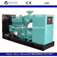 20kw-1000KW open diesel generator with Cummins engine