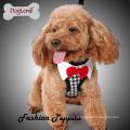 ? Fashion Elegant Peppita Design Soft Mesh Chien facile à pied Harnais