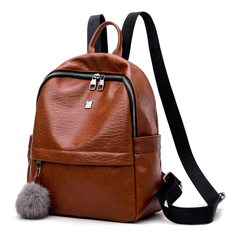 Evergreen Leather OEM customized high quality backpack