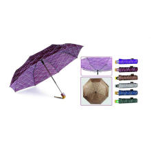"22""X8k, 3 Fold Auto Open &Close Fashion Compact Printing Umbrella"